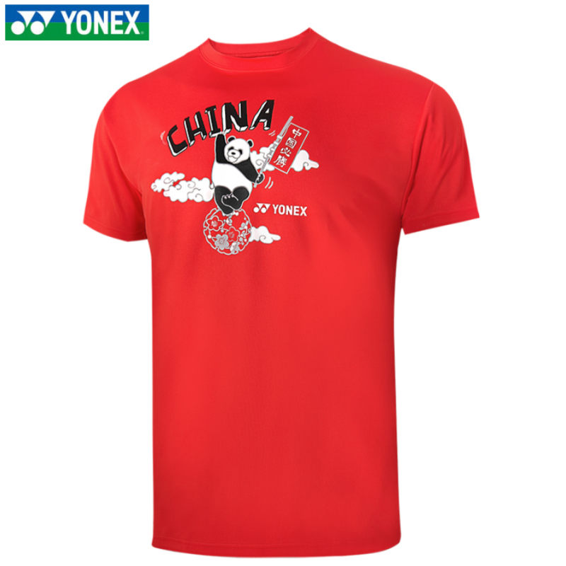 (PRE ORDER) Yonex Unisex Olympic China Cheering T-Shirt