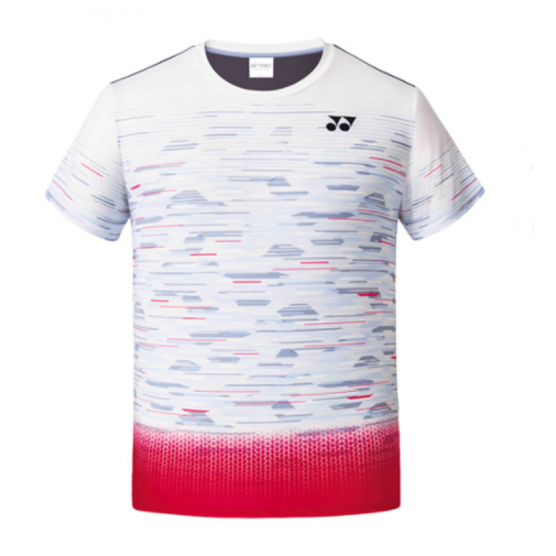Yonex 201TS021MWH Men's Game Shirt (Korea Version)