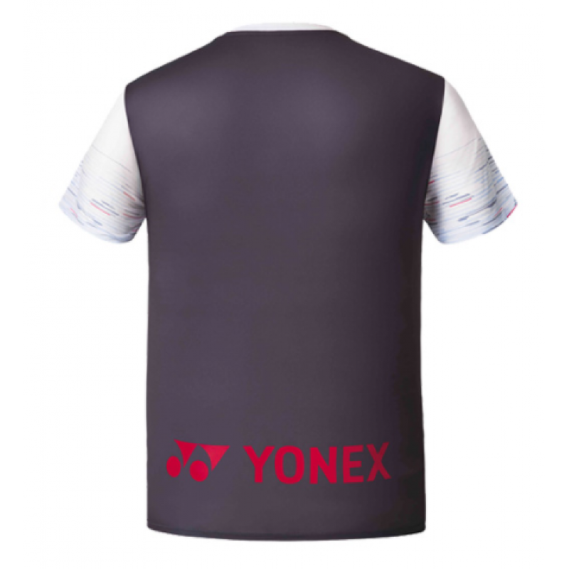 Yonex 201TS021MWH Men's Game Shirt (Korea Version)