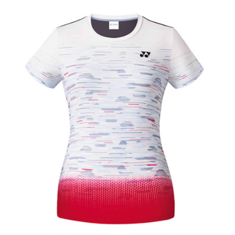 Yonex 201TS022FWH Ladies' Game Shirt (Korea Version)