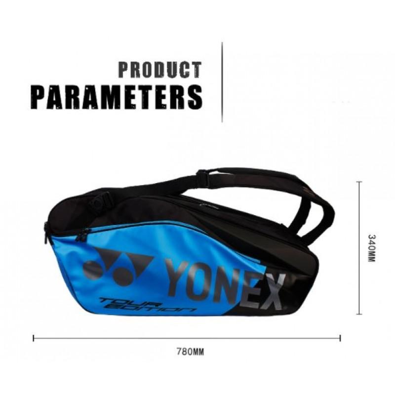 Yonex BAG9826EX-BK Pro Racquet Bag (6pcs)