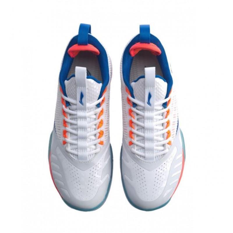 "Li Ning AYAQ001-W ""Cool Shark"" Professional Badminton Shoes"
