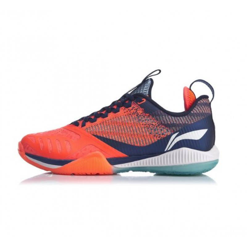 "Li Ning AYAQ001-O ""Cool Shark"" Professional Badminton Shoes"