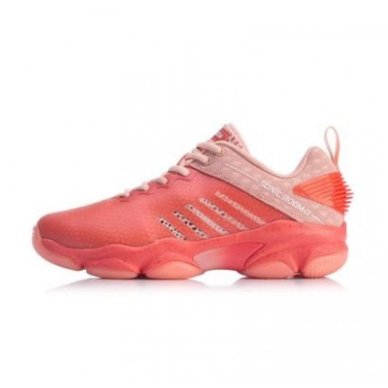 Li Ning Sonic Boom 3 AYZP006-RD Ladies Badminton Shoes