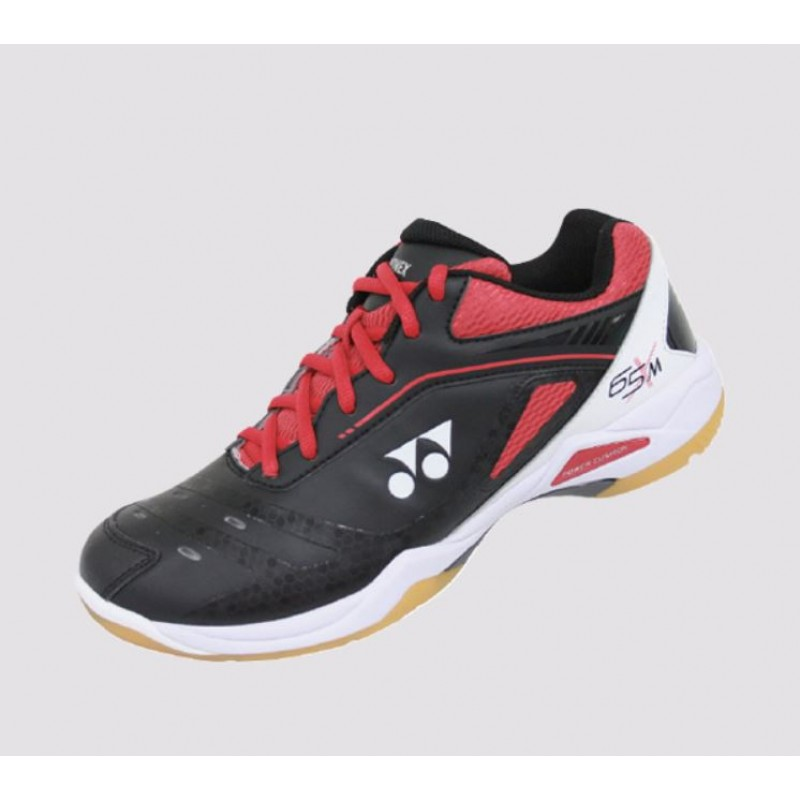 Yonex SHB-65XM Black/Red Power Cushion 65 X Badminton Shoes