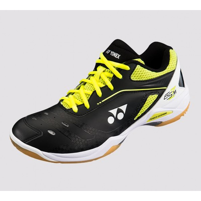 Yonex SHB-65ZM Black/Yellow Power Cushion 65 Z Badminton Shoes