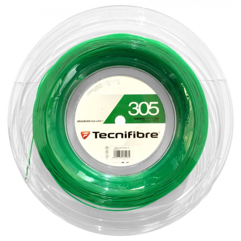 Tecnifibre 305 1.2MM 200M Reel Squash String