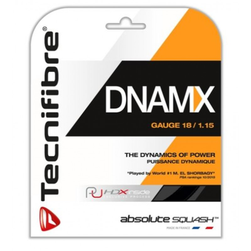 Tecnifibre DNAMX115 Squash String Set