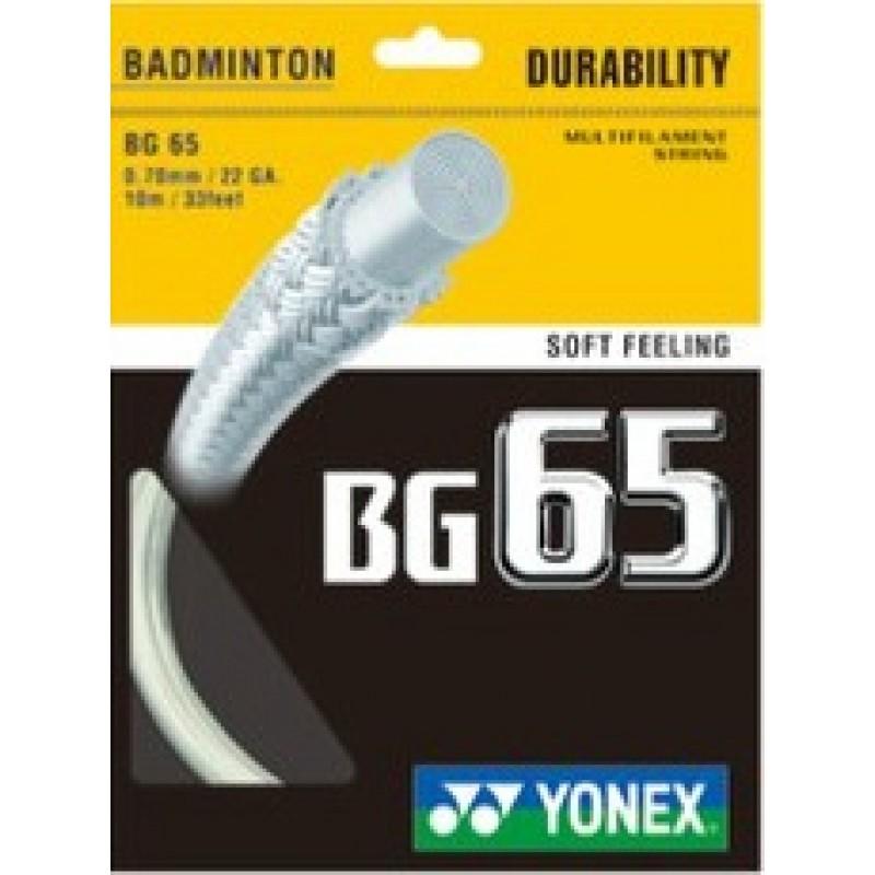 Yonex BG-65 Badminton String (10pcs)