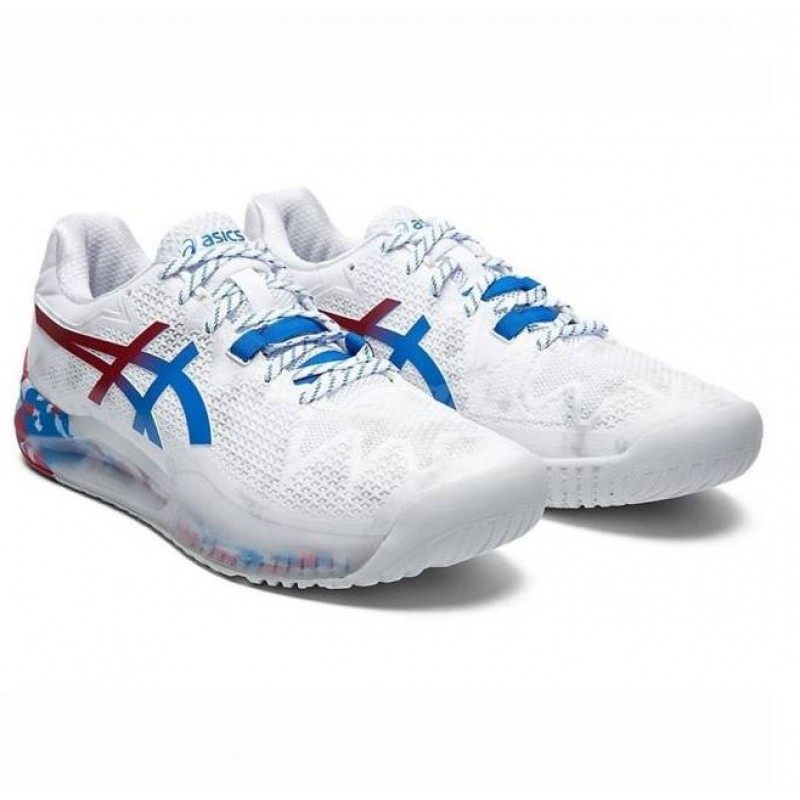 Asics Gel Resolution 8 Olympic Version Tennis Shoes