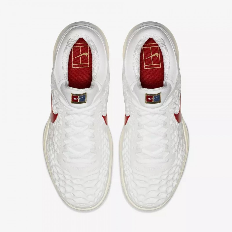 d223398168c7d Nike Air Zoom Cage 3 Wimbledon Men s Tennis Shoe