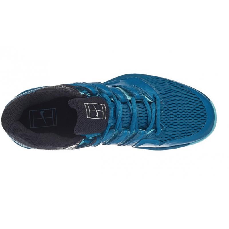 san francisco 2c1e3 1c340 Tennis Federer Zoom Air Shoes Bluegreen Nike Mens Vapor roger X 5qHww8BC
